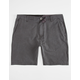VOLCOM Surf N' Turf Faded Mens Hybrid Shorts