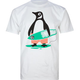 CASUAL INDUSTREES Surf Penguin Mens T-Shirt