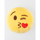 Love And Kisses Double Sided Emoji Pillow