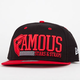 FAMOUS Stars & Straps Think Fast New Era Mens Snapback Hat