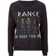 FULL TILT Shake Your Bones Womens Sweatshirt