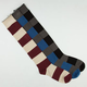 FULL TILT 3 Pack Stripe Womens Roll Top Socks