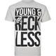 YOUNG & RECKLESS Bars Mens T-Shirt