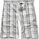BURNSIDE Plaid Mens Shorts
