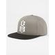 REBEL8 Logo Handstyle Mens Snapback Hat