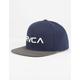 RVCA Twill Boys Snapback Hat