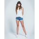 RSQ Cali Crochet Womens Denim Shorts