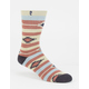 PSOCKADELIC Native Stripe Mens Crew Socks
