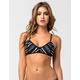 RVCA Abstraction Bralette Bikini Top