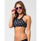 REEF Toucan High Neck Bikini Top