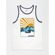 BLUE CROWN Cali Sunrise Mens Tank