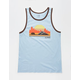 BLUE CROWN Cali Woods Mens Tank