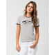 VANS Authentic Striped Womens Ringer Tee