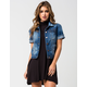 HIGHWAY Short Sleeve Womens Denim Jacket