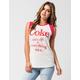 JUNK FOOD Coke Womens Muscle Tee