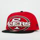 NEW ERA Squared Up 49ers Mens Snapback Hat