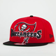 NEW ERA Squared Up Buccaneers Mens Snapback Hat