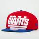 NEW ERA Squared Up Giants Mens Snapback Hat