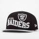 NEW ERA Wave Snap Raiders Mens Snapback Hat