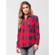 VANS Moody Blues Womens Flannel Shirt