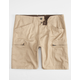 CHARLES AND A HALF Mens Slim Cargo Shorts