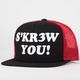 KR3W Skrew You Mens Trucker Hat