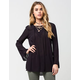 INNY Lace Up Womens Top