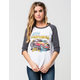 JUNK FOOD Ford Womens Raglan Tee