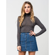 FULL TILT Ribbed Womens Turtle Neck Sweater
