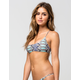 VOLCOM Thumb Print Bralette Bikini Top