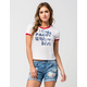 4TH & ROSE Party With The Best Womens Ringer Tee