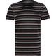 BLUE CROWN Sport Stripe Mens V-Neck T-Shirt
