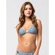 FULL TILT Ancient And Holly Macrame Bikini Top