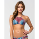FULL TILT Nation Studio High Neck Bikini Top