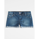SCISSOR Roll Cuff Girls Jegging Shorts
