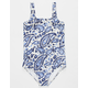 BILLABONG Penny Paisley Girls One Piece Swimsuit