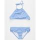 BILLABONG Sol Searcher Halter Crop Top Girls Bikini Set