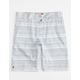 MICROS Textured Stripe Boys Shorts