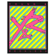 YOUNG & RECKLESS Logo Stripe Sticker