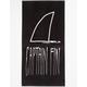 CAPTAIN FIN Shark Fin Towel