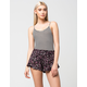 FULL TILT Floral Ruffled Womens Shorts