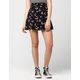 FULL TILT Floral Womens Skater Skirt