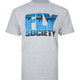 FLY SOCIETY Landing Mens T-Shirt