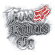 FOX Dischord 4.5 Sticker