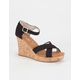 TOMS Strappy Womens Wedges