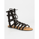 BAMBOO Ghillie Womens Gladiator Sandals