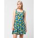 ANGIE Pineapple Skater Dress