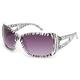 FULL TILT Zebra Rhinestone Sunglasses