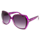 FULL TILT Leopard Cut Out Lens Sunglasses