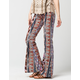 FULL TILT Ethnic Diam Womens Flare Pants